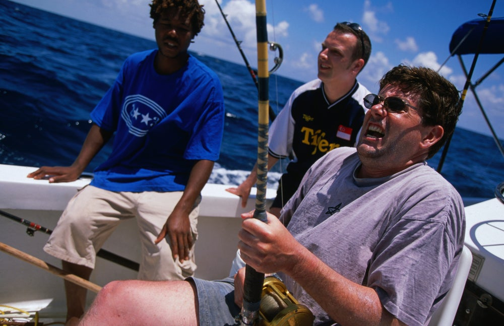 Belize image gallery lonely planet for Deep sea fishing belize