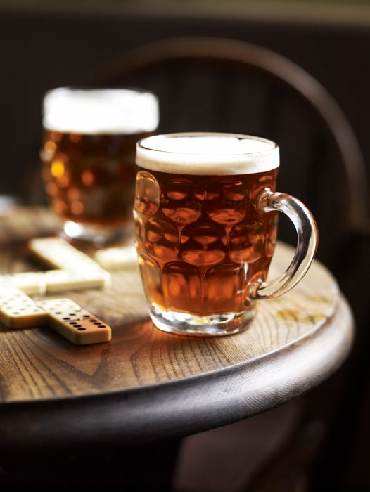 Pints of Yorkshire Ale.