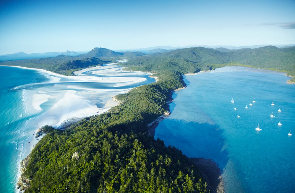 an overview of the whitsundays island Sail to whitsunday island to stretch out on pristine white sand lapped by cerulean -blue water on whitehaven beach, voted the world's most beautiful beach.