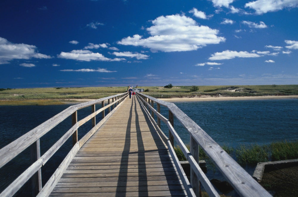 Footbridge To Beach In Ogunquit