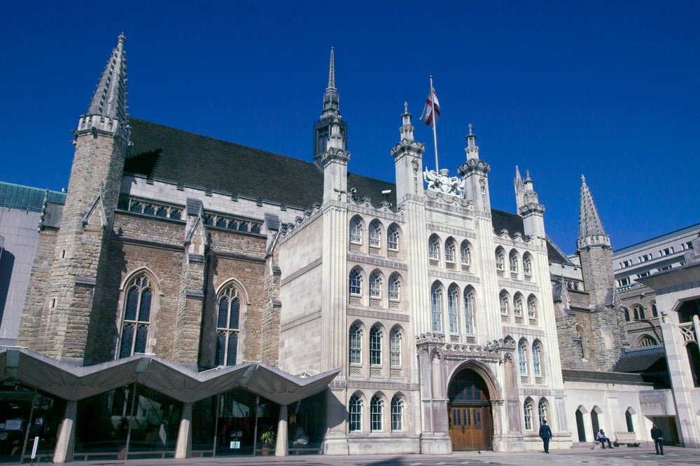 The Guildhall.